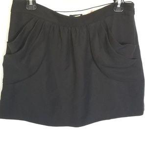 J. Crew Drapey Drexel Plisse Skirt Size 6